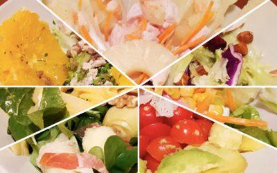 7 Ejemplos de ensaladas completas, sencillas y saludables para cenar
