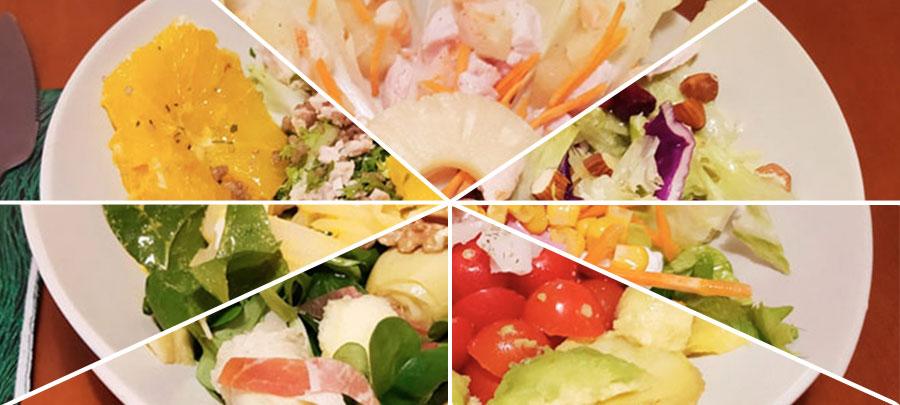 7 ensaladas completas y sencillas